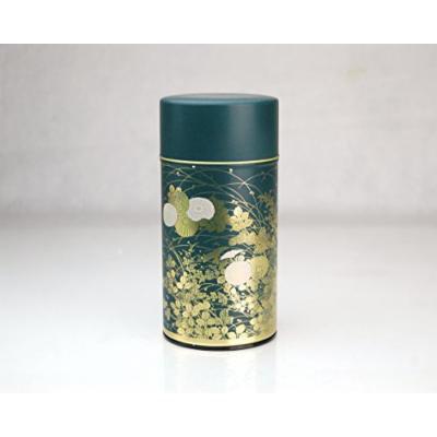 Shukanoen Japanese Green Tea Metal Tin [ Green ]