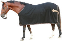 EOUS Wool Show Rug 75 Black/Gold