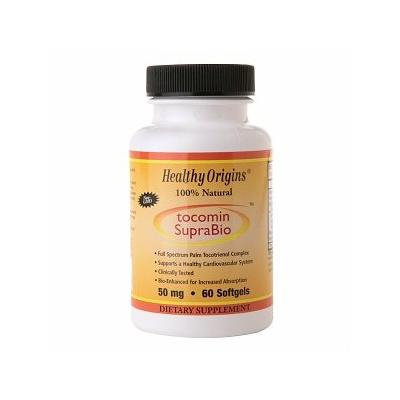 Healthy Origins Tocomin SupraBio 50 mg, Softgels 60 ea