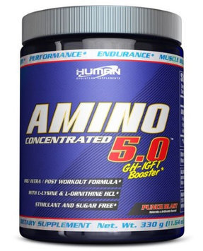 Human Evolution Supplements Amino 5.0 GH-IGF1 Booster Power Punch 325 g