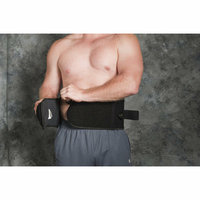 Core Products Wraptor System Lumbosacral Orthosis in Black