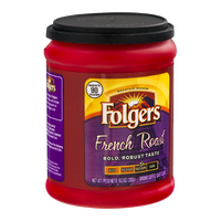 Folgers Med-Dark Ground Coffee French Roast