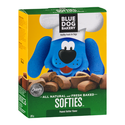 Blue Dog Bakery Softies Peanut Butter Healthy Treats for Dogs (Canadian)