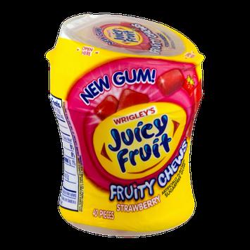 Wrigley's Juicy Fruit Fruity Chews Strawberry Gum