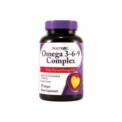 Natrol Omega 3-6-9 Complex, Softgels 60 ea