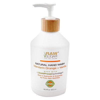 Raw Sugar Hand Wash - Mandarin Orange + Vanilla 16.9 Fl Oz