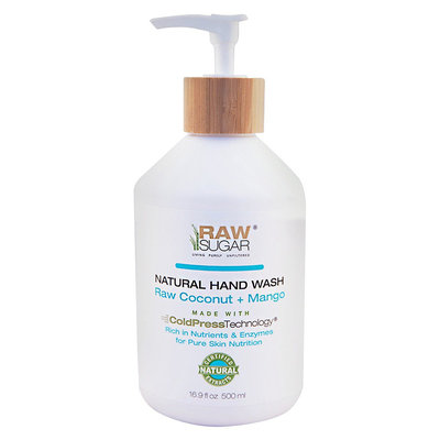 Raw Sugar Hand Wash - Raw Coconut + Mango 16.9 Fl Oz