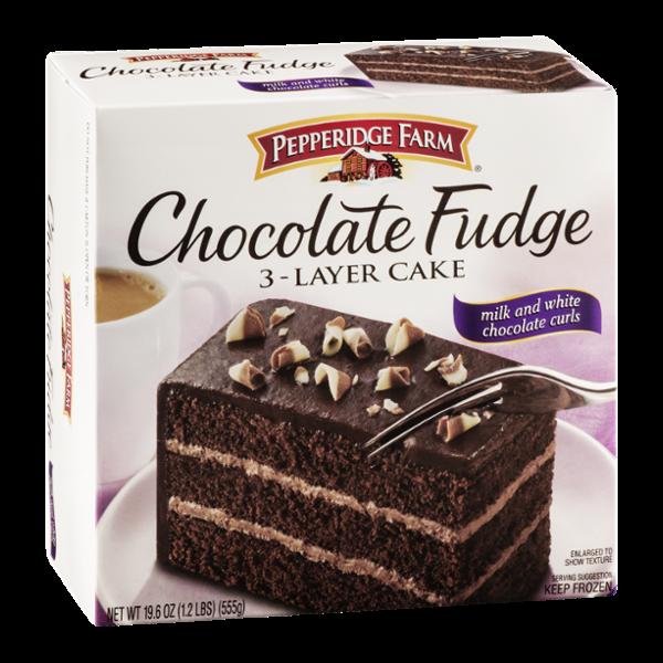 Pepperidge Farm 3Layer Cake Chocolate Fudge Reviews