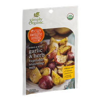 Simply Organic Vegetable Seasoning Mix Garlic & Herb