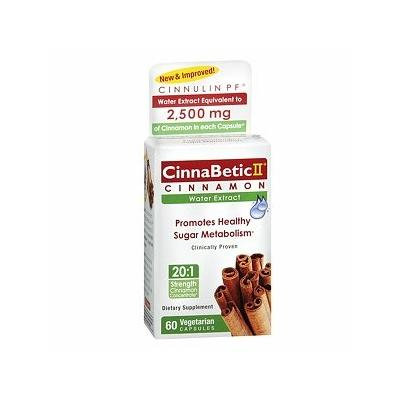 CinnaBetic II Dietary Supplement 60 ea