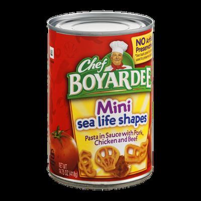 Chef Boyardee Mini Sea Life Shapes