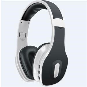 Southern Telecom The Sharper Image Headset - Stereo - White - Wireless - Bluetooth - 30 ft - 20 Hz - 20 kHz - Over-the-head - Binaural - Circumaural