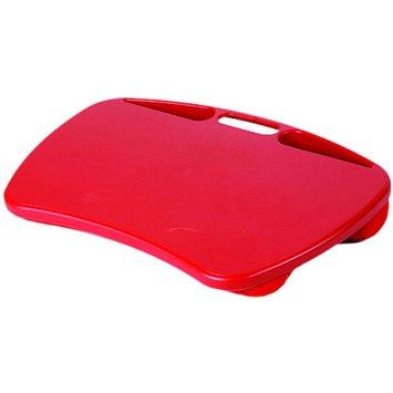 LapGear MyDesk Keeps Lap Cool Microbead Cushion Tablet Laptop eReader Desk Red
