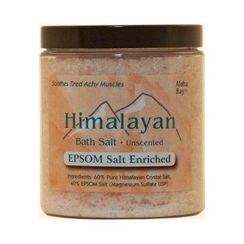 Himalayan Salt 1248228 Bath Salt 40-Pct Epsom Salt Enriched 24 Oz