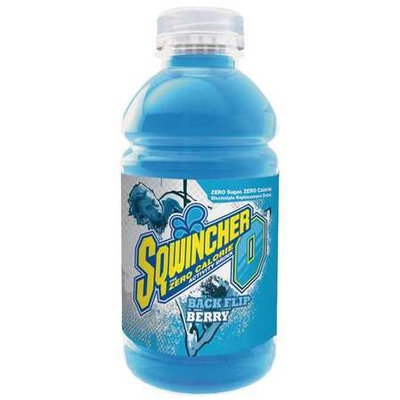 SQWINCHER 030920-MB Sports Drink, Mixed Berry,12 oz, PK24