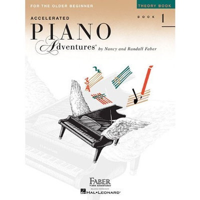 Accelerated Piano Adventures for the Older Beginner: Theory Book 1