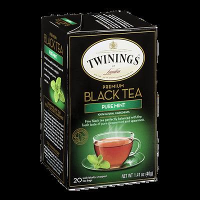 Twinings® Premium Black Tea Pure Mint
