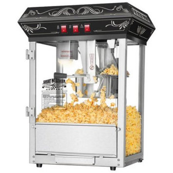Great Northern Popcorn Company Great Northern Popcorn Black Good Time Popcorn Popper Machine, 8 Ounce
