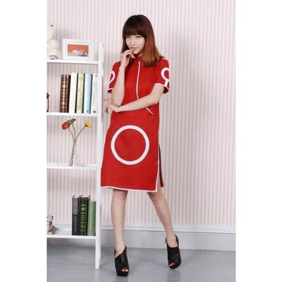 Xinghe Naruto Sakura Haruno Cosplay Costume Dress, Size M