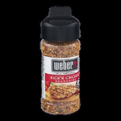 Weber All Natural Seasoning Kick'N Chicken