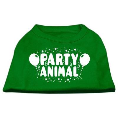 Ahi Party Animal Screen Print Shirt Emerald Green Sm (10)