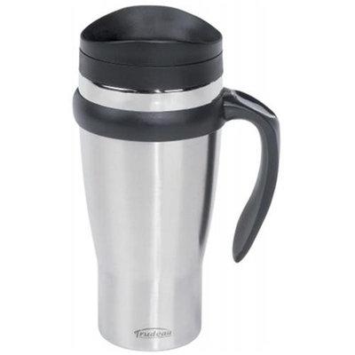 Trudeau Corporation 046450 18 Oz Stainless Steel Travel Mug