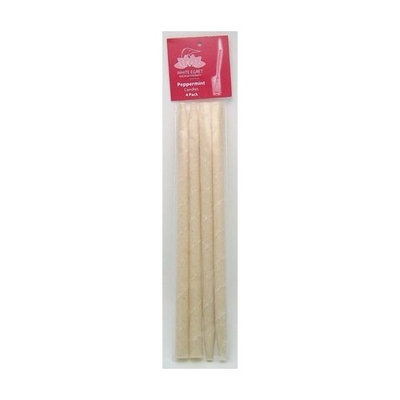 White Egret Inc Ear Candle-4 PK Peppermint - 4 pack - Candle