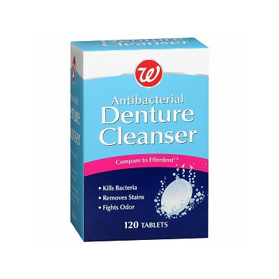 Walgreens Denture Cleanser
