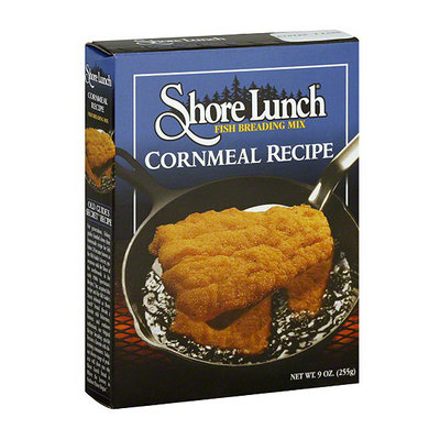 Shore Lunch Cornmeal Recipe Fish Breading Mix