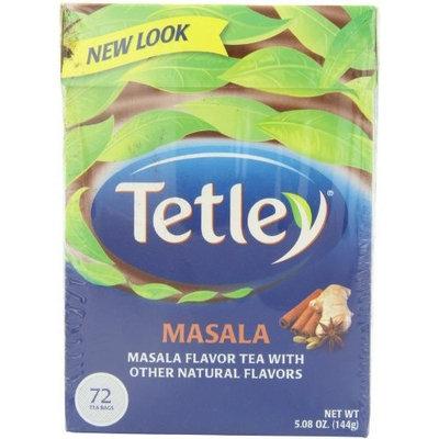 Tetley Tea, Masala, 72 Count Tea Bag