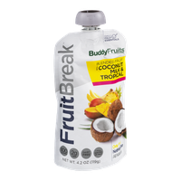 Buddy Fruits FruitBreak Blended Fruit with Coconut Milk & Tropical