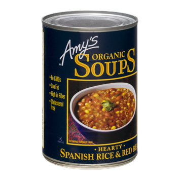 Amy's Organic Soups Hearty Spanish Rice & Red Bean
