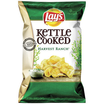 LAY'S® Kettle Cooked Harvest Ranch Potato Chips