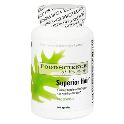 FoodScience of Vermont Superior Hair Dietary Supplement Capsules