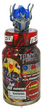 Health Science Labs Transformers Gummy Multivitamin Dietary Supplement Bottles
