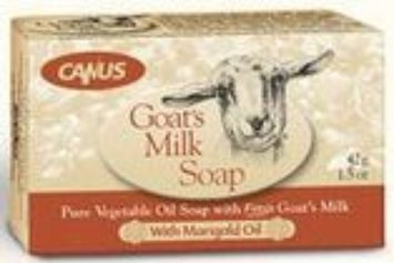 Canus Goat's Milk Bar Soap With Marigold Oil Vermont