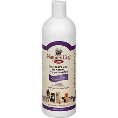 Canus Goat's Milk Canus Nature's Dog Puppy Shampoo with Lavender -- 16 fl oz