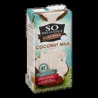 So Delicious Diary Free Coconut Milk Beverage Original Sugar Free