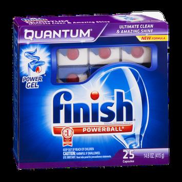Finish Quantum Dishwasher Detergent - 25 CT