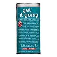 The Republic of Tea, Get It Going Tea, 36-Count