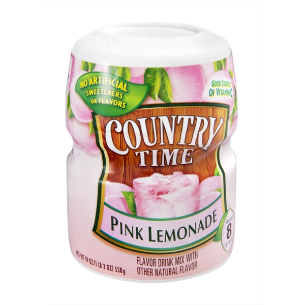Country Time  Pink Lemonade Flavor Drink Mix