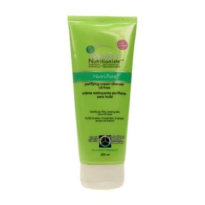 Garnier Nutritioniste Nutri-Pure Detoxifying Cream Cleanser Oil-Free Facial Cleansing Creams