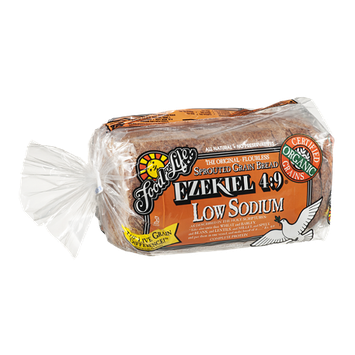 Food For Life Ezekiel 4:9 Sprouted Grain Bread Low Sodium