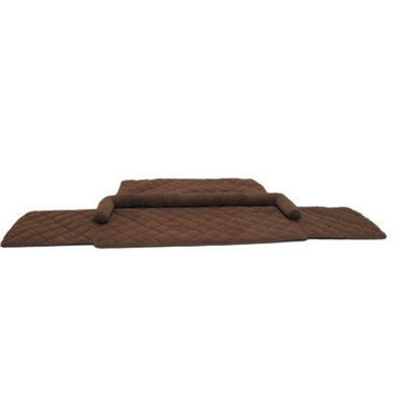 Everest Pet Couch Pad Protector Color: Chocolate, Size: 72