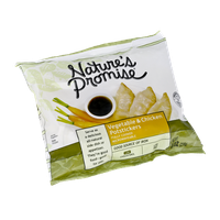 Natures Promise Naturals Vegetable and Chicken Potstickers