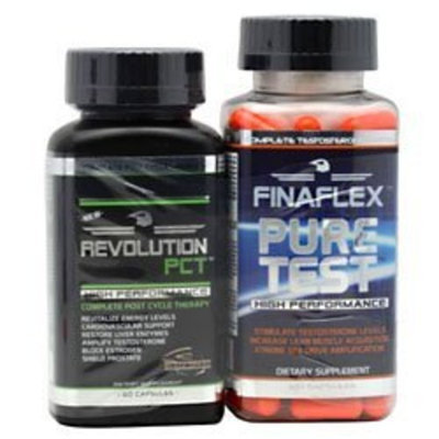 Finaflex Revolution PCT Black + Pure Test Combo - 30 DAY SUPPLY