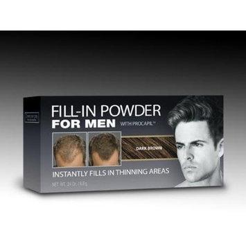 Cover Your Gray LISA RACHEL Cyg Fill In Powder Men, Dark Brown