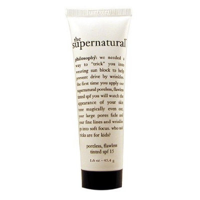 philosophy 'the supernatural' poreless, flawless spf 15