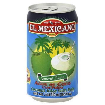 El Mexicano Juice, Coconut, With Pulp, 10.5 fl oz (310 ml)