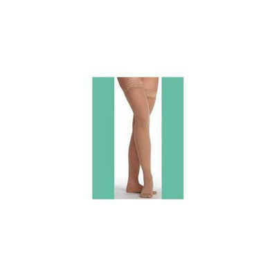 Juzo 2502AGSBSH18 III Hostess Thigh Highs Short with Silicone - Noblesse